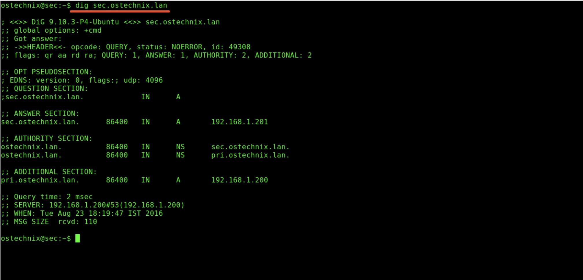 ubuntu server with NGINX