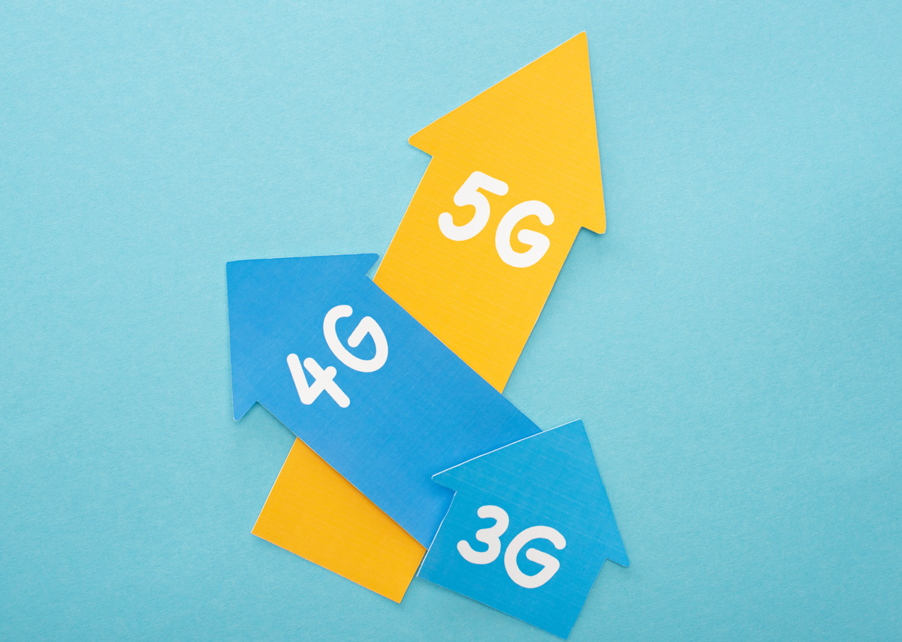 2G 3G 4G 5G - The Evolution of Gs